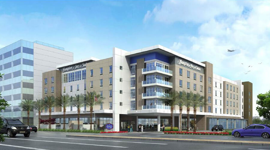 SpringHill Suites El Segundo is under construction!