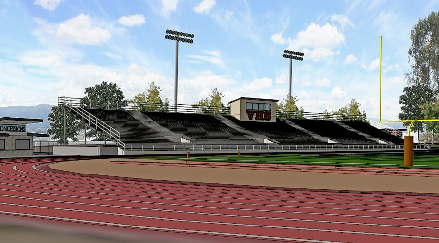 Vista High School Athletic Field