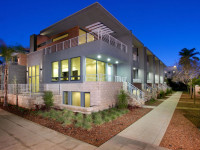 Construction is complete at Greenstone Rowhomes in Banker's Hill