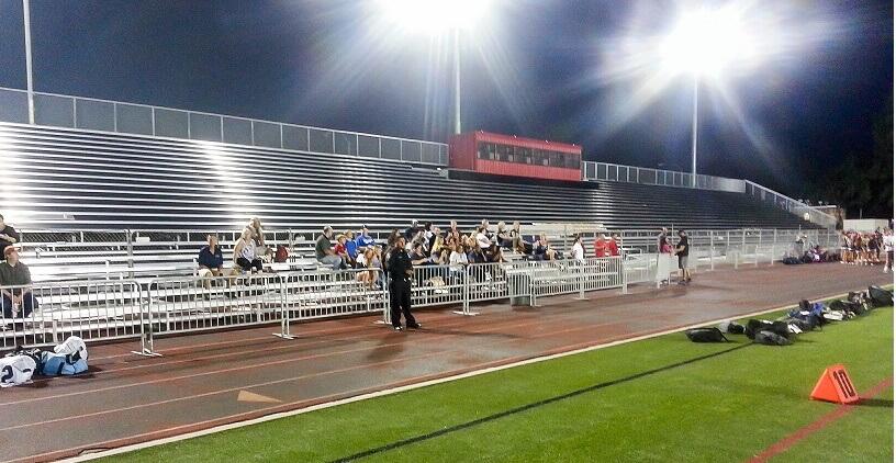 Vista High School Unveils 3 7m Football Field Plsa